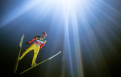 06.01.2015, Paul Ausserleitner Schanze, Bischofshofen, AUT, FIS Ski Sprung Weltcup, 63. Vierschanzentournee, Finale, im Bild Severin Freund (GER) // Severin Freund of Germany during Final Jump of 63rd Four Hills <br /> Tournament of FIS Ski Jumping World Cup at the Paul Ausserleitner Schanze, Bischofshofen, Austria on 2015/01/06. EXPA Pictures &copy; 2015, PhotoCredit: EXPA/ JFK