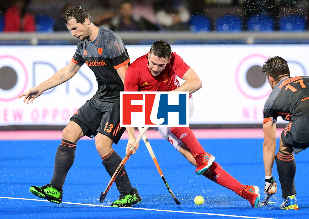 Odisha Men's Hockey World League Final Bhubaneswar 2017<br /> Match id:17<br /> England v Netherlands<br /> Foto: Sander Baart (Ned)  <br /> COPYRIGHT WORLDSPORTPICS FRANK UIJLENBROEK