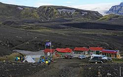 09-07-2014 ISL: Iceland Diabetes Challenge Dag 5, Emstrur<br /> Van Alftavatn naar Emstrur / Basecamp Emstrur