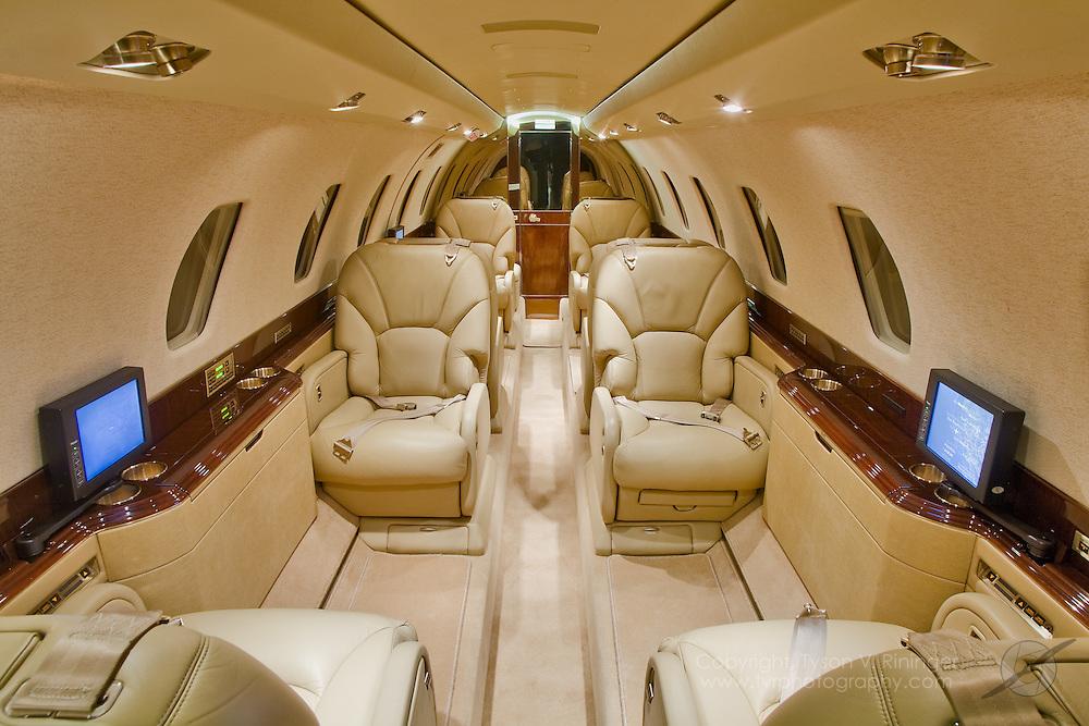 Brokerage Shoot of Cessna Citation X Twin Turbofan Engine Aircraft
