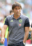 Antonio Conte, head coach of Chelsea during the pre season friendly match at Weserstadion, Bremen, Germany.<br /> Picture by EXPA Pictures/Focus Images Ltd 07814482222<br /> 07/08/2016<br /> *** UK & IRELAND ONLY ***<br /> EXPA-EIB-160807-0253.jpg