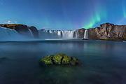 Godafoss waterfall in Northeast-Iceland