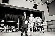Japanska proffswrestlern Nanae Takahashi tar emot publikens ovationer och hon f&aring;r blommor inf&ouml;r kv&auml;llens match i Hakata, Japan. Hon innehar flera v&auml;rldsm&auml;startitlar och har brottats f&ouml;r All Japan Women's Pro-Wrestling och Pro Wrestling Sun<br /> <br /> Nanae Takahashi is recieveing flowers and ovations from the audience before the wrestling match in Hakata, Japan. Nanae Takahashi is a Japanese professional wrestler. She has wrestled for prominent Japanese promotions All Japan Women's Pro-Wrestling and Pro Wrestling Sun, and has held multiple world championships.