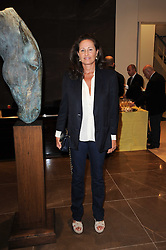 HENRIETTA, COUNTESS OF CALEDON at reception to see the installation of Horse at Water by Nic Fiddian-Green at Marble Arch, London on 14th September 2010.