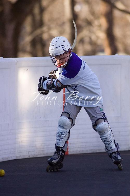 Madison Hockey Tournament.Juniors-Flyers vs Predators.February 24, 2007