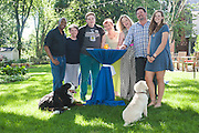 Family Portrait Photos in Naperville by Chicago Sports Photographer Chris W. Pestel Photography.