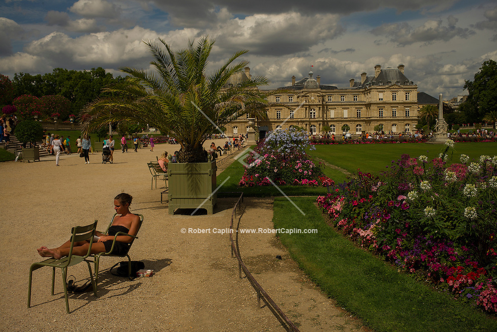 Jardin du Luxembourg in Paris, France.<br /> <br /> (Photo by Robert Caplin)