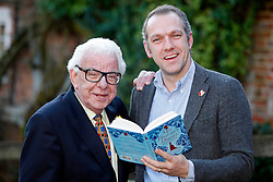 A audience with Barry Cryer and his son Bob Cryer at the Watermill Theatre,Newbury,Berks, where they read excerpts from their new book Mrs.Hudson's Diaries .Friday, 7th February 2014. Picture by i-Images