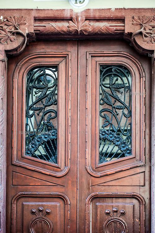 Milano, Lombardia, Italia. Stile liberty. Liberty style. Via Ciro Menotti 19