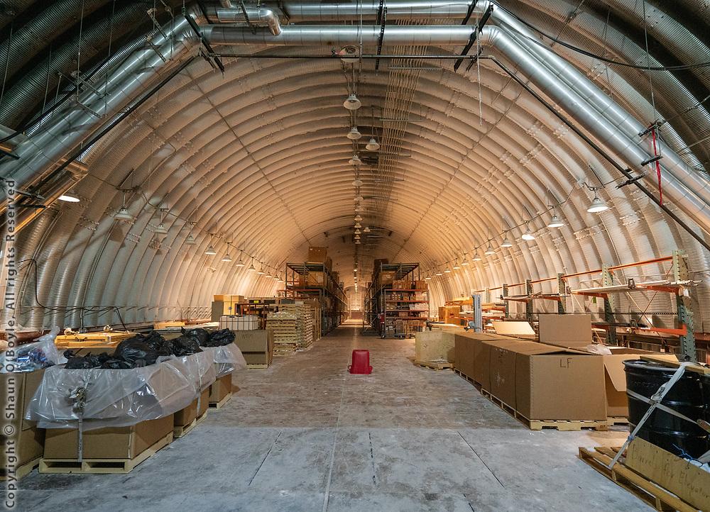 Logistics Arch, South Pole Station