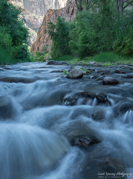 Rushing water in Aravaipa Creek