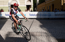Anze Baselj competes during amateur Hervis Time Trial at Stage 1of  cycling race 20th Tour de Slovenie 2013 - Time Trial 8,8 km in Ljubljana,  on June 12, 2013 in Slovenia. (Photo By Vid Ponikvar / Sportida)