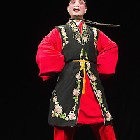 VENICE, ITALY - JULY 29:  Li Hongliang of the Kunqu Opera of Jiangsu performs at Teatro Goldoni on July 29, 2011 in Venice, Italy. Kunqu Opera, now under the Unesco patronage, originated in the Jiangsu province, dating back to the early Ming dinasty. With a history of more than six hundred years, Kunqu Opera is a traditional type of Chinese drama and one of the most ancient opera forms in China and in the world.