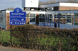 © Licensed to London News Pictures. 07/01/2012. Orpington, UK. Burwood School on Avalon Road, Orpington,  where a 10-year-old boy has been arrested over an alleged attack on two women teachers,both in their 50's. One of the teachers was treated for a facial injury and the other has a suspected dislocated kneecap and broken leg. Photo credit : Grant Falvey/LNP