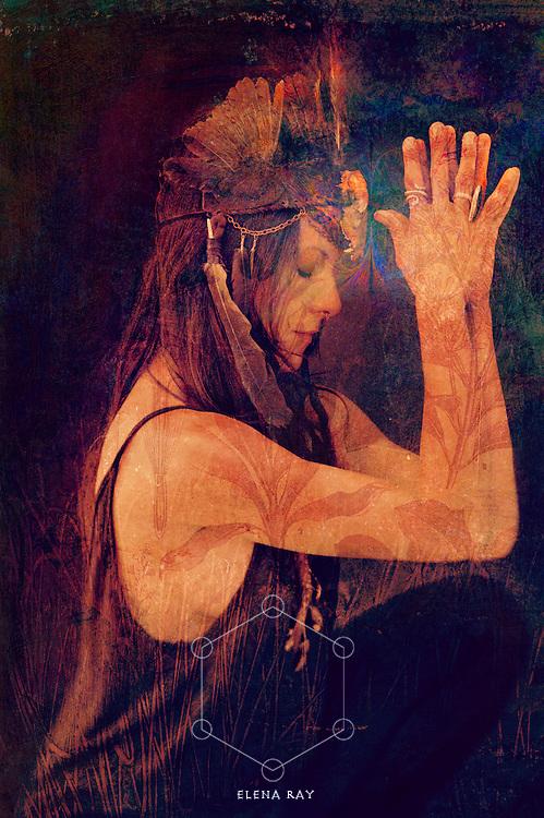 Shamanic image totem.