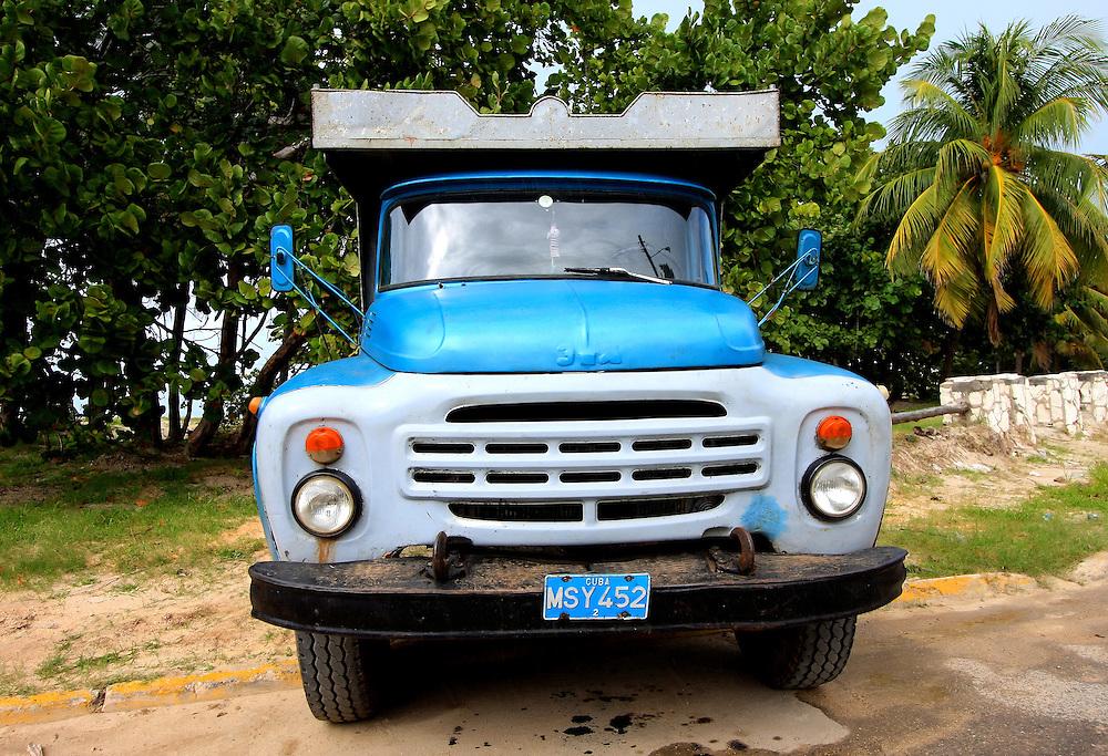 Russian truck in Varadero, Matanzas, Cuba.