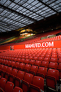 Manchester United Football Club, Manchester, England, UK
