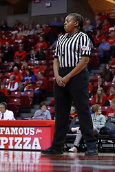 01 January 2017: LaSha Hopson during an NCAA Missouri Valley Conference Women's Basketball game between Illinois State University Redbirds the Braves of Bradley at Redbird Arena in Normal Illinois.
