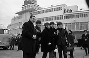 The Beatles arrive in Ireland to play their only gig in the country in the Adelphi Cinema on 7 November 1963..07.11.1963