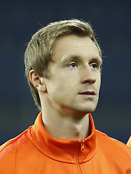 Bohdan Butko of FC Shakhtar Donetsk during the UEFA Champions League group F match between Shakhtar Donetsk and Feyenoord Rotterdam at Metalist Stadium on November 01, 2017 in Kharkiv, Ukraine