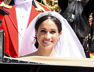 Royal Wedding carriage procession and build up, Windsor England