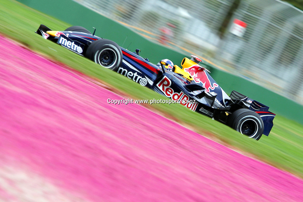 David Coulthard / RedBull - 15.03.2007 - F1 F 1 Formule 1 - Gd Prix d Australie - largeur action *** Local Caption *** 00019329