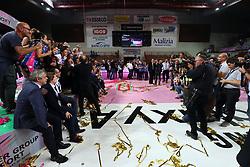 NOVARA ESULTA<br /> PALLAVOLO VOLLEY SUPERCOPPA ITALIANA FEMMINILE 2017-2018<br /> IGOR GORGONZOLA NOVARA - IMOCO VOLLEY CONEGLIANO<br /> NOVARA 01-11-2017<br /> FOTO FILIPPO RUBIN / LVF