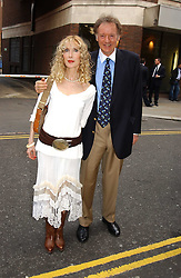 RICHARD & BASIA BRIGGS at an exhibition of photographs featuring Maserati cars held at the Michael Hoppen Gallery, 3 Jubilee Place, London SW3 on 13th July 2005.<br /><br />NON EXCLUSIVE - WORLD RIGHTS