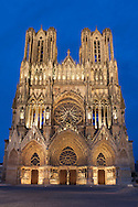 Cathedral of Reims, Marne, Champagne-Ardenne, France