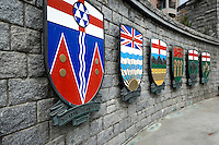 Canadian Province Shields, Victoria, B.C.