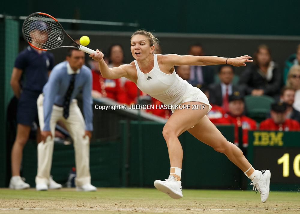SIMONA HALEP (ROU)<br /> <br /> Tennis - Wimbledon 2017 - Grand Slam ITF / ATP / WTA -  AELTC - London -  - Great Britain  - 11 July 2017.