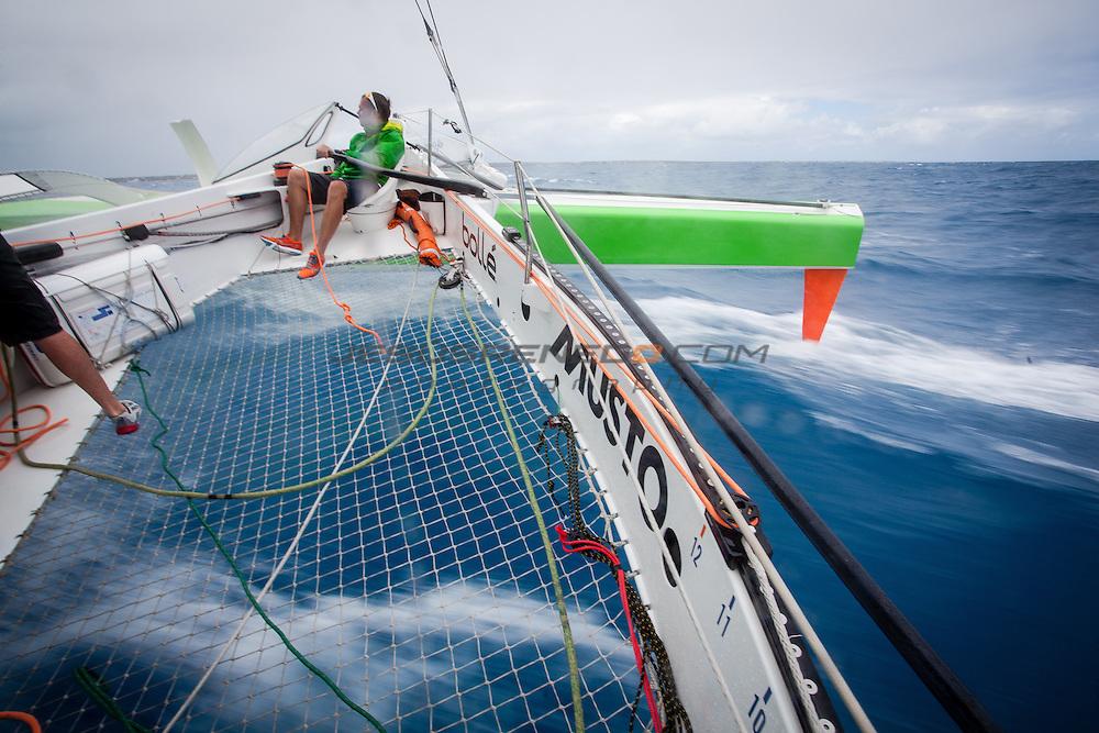 MOD 70 Phaedo³   Saint Marteen, 5th March 2015 , Heineken Regatta, practice day sailing around the Island