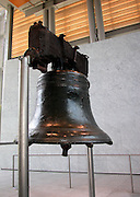 Image of the Liberty Bell in Philadelphia, Pennsylvania, American Northeast