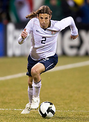 United States defender Frankie Hejduk (2).  The United States men's soccer team defeated the Mexican national team 2-0 in CONCACAF final group qualifying for the 2010 World Cup at Columbus Crew Stadium in Columbus, Ohio on February 11, 2009.