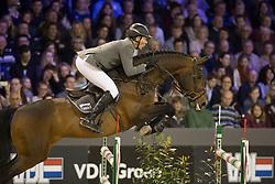 Beerbaum Ludger, (GER), Chaman<br /> Rolex Grand Prix<br /> Indoor Brabant - 's Hertogenbosch 2015<br /> © Hippo Foto - Dirk Caremans