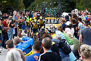 Team LottoNL - Jumbo during the 2018 UCI Road World Championships, Men's Team Time Trial cycling race on September 23, 2018 in Innsbruck, Austria - Photo Luca Bettini / BettiniPhoto / ProSportsImages / DPPI