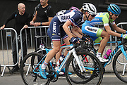 Women Road Race 129,4 km, Charlotte Bavard (French) during the Road Cycling European Championships Glasgow 2018, in Glasgow City Centre and metropolitan areas Great Britain, Day 4, on August 5, 2018 - Photo Laurent lairys / ProSportsImages / DPPI