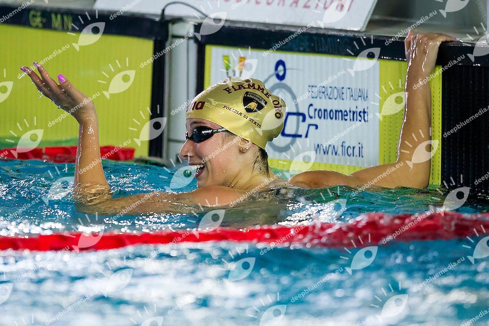 Luisa Trombetti<br /> Fiamme Oro<br /> 400 Misti Finale<br /> Stadio del Nuoto Riccione<br /> Campionati Italiani Nazionali Assoluti Nuoto Primaverili Fin <br /> Riccione Italy 21-04-2016<br /> Photo &copy; Andrea Masini/Deepbluemedia/Insidefoto