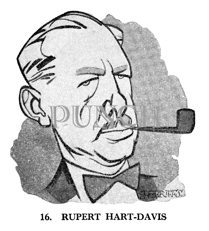 These Looks Speak Volumes 16. Rupert Hart-Davis