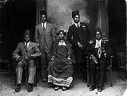 Nubian family photo (circa 1940s)