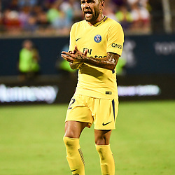 Daniel Dani Alves of PSG during the International Champions Cup match between Paris Saint Germain and Tottenham Hotspur on July 22, 2017 in Orlando, United States. (Photo by Dave Winter/Icon Sport)