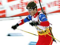 Biathlon, 09. december 2004, World Cup, Oslo,  Alexander Os, Norge