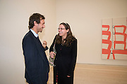 DAN MACMILLAN; LOUISA MACMILLAN, Unveiled; New art from the Middle East. The Saatchi Gallery in partnership with Phillips de Pury. Saatchi Gallery. King's Rd. London. 29 January 2009 *** Local Caption *** -DO NOT ARCHIVE-© Copyright Photograph by Dafydd Jones. 248 Clapham Rd. London SW9 0PZ. Tel 0207 820 0771. www.dafjones.com.<br /> DAN MACMILLAN; LOUISA MACMILLAN, Unveiled; New art from the Middle East. The Saatchi Gallery in partnership with Phillips de Pury. Saatchi Gallery. King's Rd. London. 29 January 2009