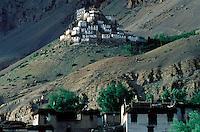 Inde - Province de l'Himachal Pradesh - Vallée du Spiti - Monastère bouddhiste de Ki