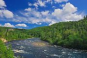 Riviere Ste Marguerite (a salmon river)<br /> Parc Saguenay<br /> Quebec<br /> Canada