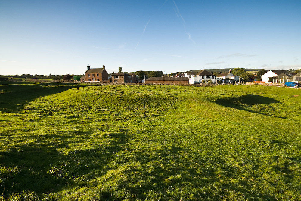 King Arthurs Round Table is a prehistoric circular earthwork bounded by a ditch and an outer bank, at Eamont bridge, just South of Penrith,