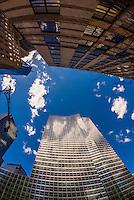 Skyscrapers, Battery Park City, New York, New York USA.