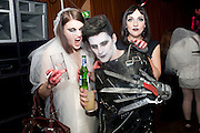 BEN GRIMES; HENRY HOLLAND; LILY BARKER, Browns Focus Halloween party. Shepherds Bush pavilion. Shepherds Bush. London. 30 October 2009