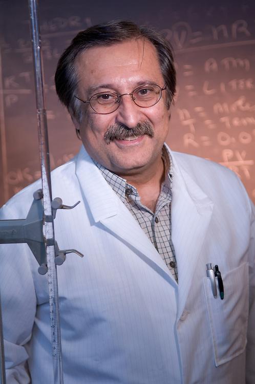 18315OU Zanesville Campus Shots: ...DR. SHAHROKH GHAFFARI.Associate Professor of Chemistry