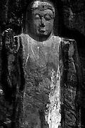 Sri Lanka..Buduruvagala rock carvings.